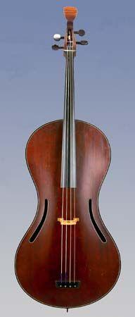 NMM 10010. Violoncello by Chanot & Lété workshop, Paris, ca. 1819-1820.