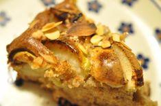 Nem og lækker æblekage med kanel og mandelflager