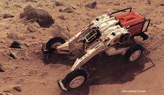 Orbital Industries Exploration Rover, wesley griffith on ArtStation at https://www.artstation.com/artwork/orbital-industries-exploration-rover