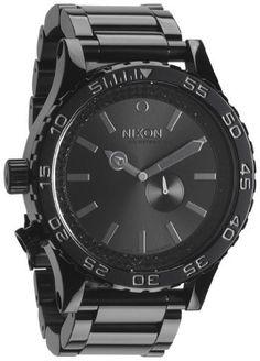 Nixon 51-30 Watch - Men s All Black Black Crystal bdc067205d1