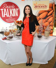 Bethenny Frankel's healthy snacking tips