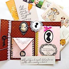Austen mail going over the pond to Darbyshire, England