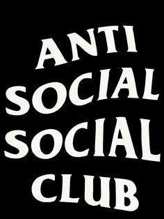 Anti social social club logo