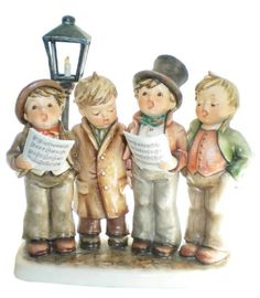 Hummel Figurines Harmony in Four Parts Hummel Figurine 471