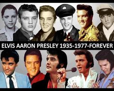 Elvis Presley - through the years