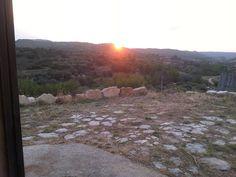 Para hoy domingo os dejo esta foto de la puesta de sol desde las eras de Marigalve