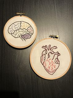Grand Sewing Embroidery Designs At Home Ideas. Beauteous Finished Sewing Embroidery Designs At Home Ideas. Embroidery Hearts, Learn Embroidery, Hand Embroidery Stitches, Embroidery Hoop Art, Hand Embroidery Designs, Embroidery Techniques, Cross Stitch Embroidery, Cross Stitch Patterns, Cross Stitching
