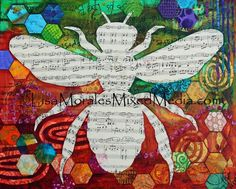 Sold! Another wonderful #collage by Lisa Morales. heart emoticon The texture and patterns in this collage are perfect!