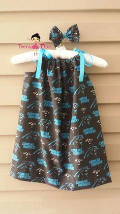 Items similar to Carolina Panthers Pillowcase Dress on Etsy 5cd899012