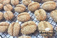 Greek Sweets, Greek Desserts, Greek Recipes, Greek Cookies, Vegetarian Recipes, Cooking Recipes, Biscotti Cookies, Cake Cookies, Biscuit Recipe