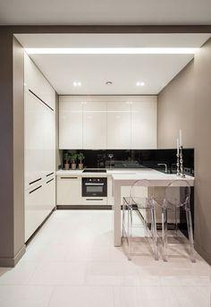 84 White Kitchen Interior Designs with Modern Style