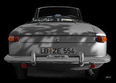 Opel Kadett A Spider by Pietro Frua rear view