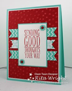 FMS Good Thoughts by kyann22 - Cards and Paper Crafts at Splitcoaststampers