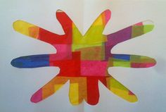 Kids Art Market: Negative and positive Space with Mathilda Roussel