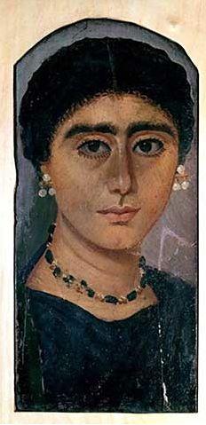 anonimous  DescriptionFayum mummy portrait  Date2nd century