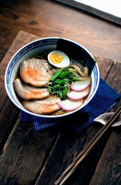 Japanese Shoyu Ramen | condospalillos                                                                                                                                                      Más
