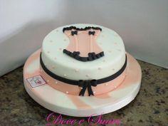Bolo para chá de lingerie  #bridalshower #chadelingerie #lingerieshower
