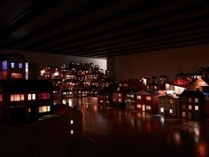 """Rachel Whiteread's celebrated artwork """"Place (Village)"""" (2006–08) is on permanent display at the V&A Museum of Childhood, London. """"Place (Village)"""" is a sculptural work featuring a 'community' of around 150 dolls's houses which were collected by Whiteread over 20 years. The artwork joins the 100+ dolls's houses in the Museum collection.  The museum is open daily (click on the link in our bio for visitor information)—take the kids!  #RachelWhiteread #dollshouse #RachelWhitreadHouse…"""