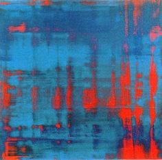 Gerhard Richter » Art » Paintings » Abstracts » Red-Blue-Green » 803-3