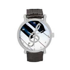 Piano musical symbol watches Proud Of My Daughter, Band Jokes, Best Piano, Musician Gifts, Music Jewelry, Accesorios Casual, Music Decor, Music Love, Watches Online