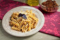 Pesto Rosso Fusilli #vegelicacy