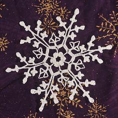 Ravelry: Third Red Mug Snowflake pattern by Deborah Atkinson