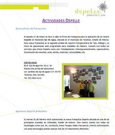 Actividades@DepelleMexico