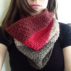 You've been yarned: Caron Cake Cowl: Ravelry