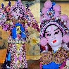 Yang Zongbao 15.4 Inch Chinese Opera Figurine