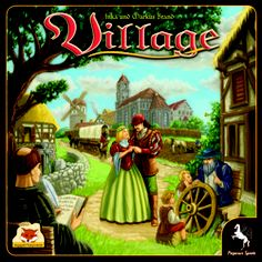Village Strategy Family Fun Interactive Board Game Stronghold Games 265853 for sale online Board Game Online, Online Games, Pegasus, Rome Antique, Village Inn, Inka, Strategy Games, Tabletop Games, Game Night