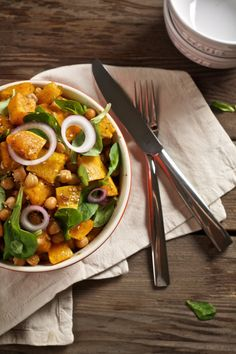 Kürbis-Kichererbsen-Salat by @simplyihana