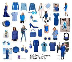 """""""Helder blauw/ Clear blue."""""""