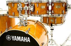 """Bateria Yamaha Stage Custom Birch Honey Amber Lacquer 22"""",8"""",10"""",12"""",14"""",16"""" (Shell Pack) : DEPARTAMENTOS - Baterias - Acústicas : Batera Clube : A 1ª Drum Shop Online do Brasil"""