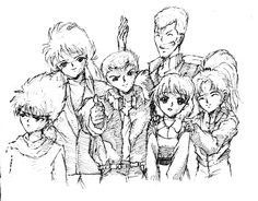 YuYu Hakusho [Fan Art] | Pen and Ink Sketch - One of my favorite manga/anime of all time. Personally, YuYu Hakusho has a nostalgic feeling to me. I used to watch the anime series on TV when I was kid. Great time! :)