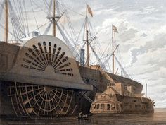 The Last Victorian Leviathan Steam Ship  #Steampunk