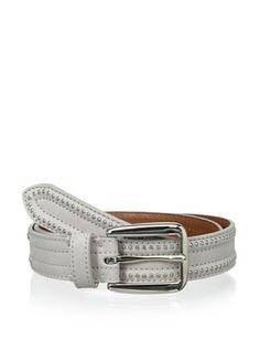 Bergè Women's Beaded Belt (Light Gray)