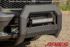 2011-2016 Ford F-250/F-350 Super Duty AdvantEDGE 5.5in Aries Black Bull Bar
