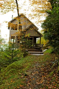 The cabin we stayed in up in the Smokey Mountains.
