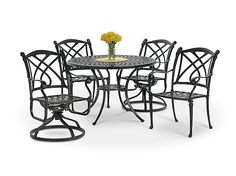 Napa 5 Piece Patio Dining Set By Direct Designs