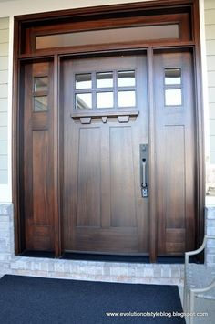 1000 images about front door on pinterest craftsman for This isn t my beautiful house