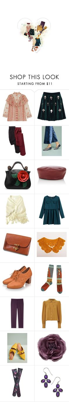 """""""Complements"""" by wonderfullyweird ❤ liked on Polyvore featuring Anna Sui, HUE, Llani, Jennifer Ouellette, HarLex, Kapital, PS Paul Smith, Jane Norman, Jeffrey Campbell and Monsoon"""