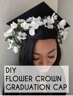 It's always fun to see how graduates decorate their graduation cap, writing inspiring quotes or messages with puffy paint, or taking a more humorous approach. For a creative design that'll make your cap stand out in a sea of caps, make a DIY flower crown for your cap! All you need is a faux flower vine, faux flower bundle, floral tape, and scissors. You can even plan a day with your fellow graduating friends to do this together. Head to eBay for the step-by-step instructions.