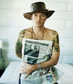 Scott Weiland | by Marc Hom