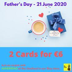 Pure notions sure! Irish Goodbye, Irish Greetings, Irish People, Handmade Items, Handmade Gifts, Coupon Codes, Etsy Store, Fathers Day, Birthday Cards