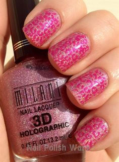 Pink Leopard by NailPolishWars from Nail Art Gallery