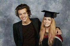 Congrats to Gemma on graduating.