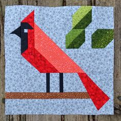 Sew Fresh Quilts: Let's Bee Social Mini Quilt Patterns, Paper Piecing Patterns, Bird Patterns, Pattern Blocks, Applique Patterns, Quilting Patterns, Vogel Quilt, Bird Quilt Blocks, Block Quilt