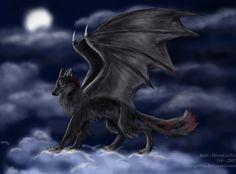 Wolf Dragon -deviantART
