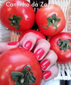 Esmalte e Frutas.  Esmalte: Tomate, Impala.