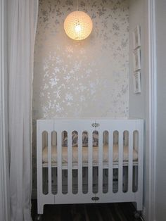 Create a Sweet Nursery #closetmakeover #homedecor